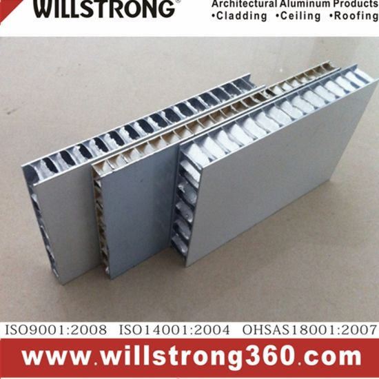 25 mm Thickness Aluminum Honeycomb Panel pictures & photos