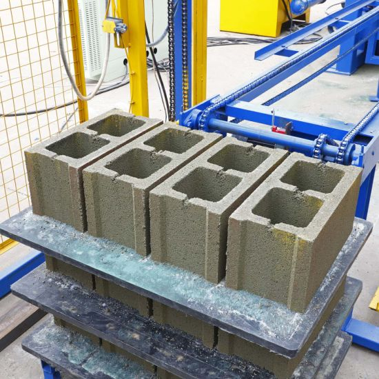 China Qt4 15 Fully Automatic Cement Brick Making Concrete Block Manufacturing Machine Price China Block Making Machine Brick Making Machine