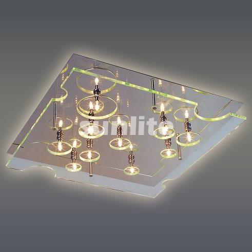 Modern Clear Glass Ceiling Lamp (MD-9122XL)
