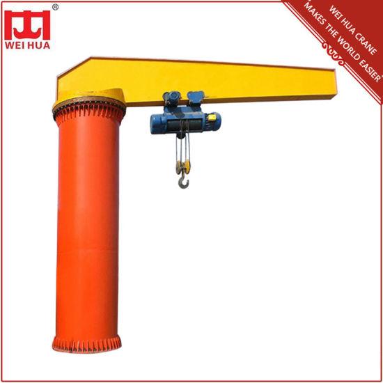 Weihua 360 Degree Pillar Jib Crane, Cantilever Swing Arm Jib Crane for Sale