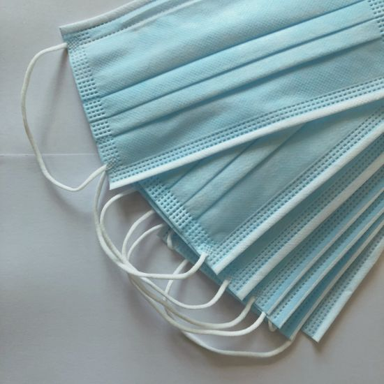 Personal Disposable Ce Protective Medical Surgical Ear Loop & Tie on Face Mask