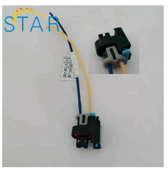 2 Pin Delphi Waterproof Automobile Connector Sensor Plug Wiring Harness