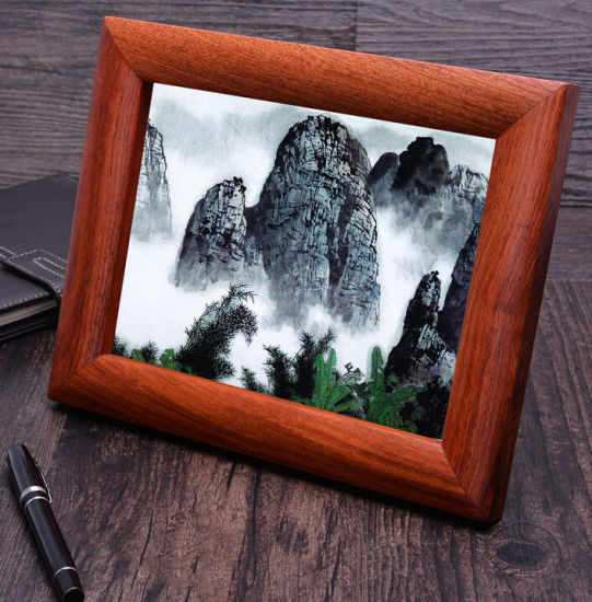 Luxury Natural Rosewood Picture Frame pictures & photos