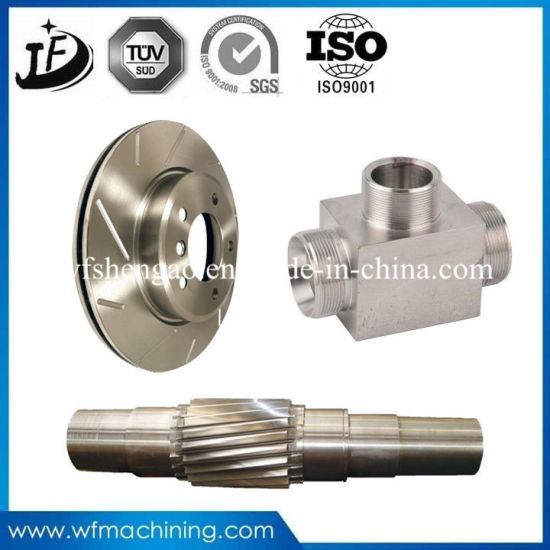 Precision CNC Machining Tube Machining 304 Stainless Steel Flange pictures & photos