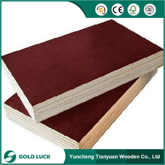18mm Poplar Core Waterproof Glue Film Faced Plywood for Construction pictures & photos