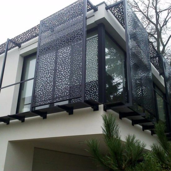 China Perforated Metal Sheet For Building Facades And