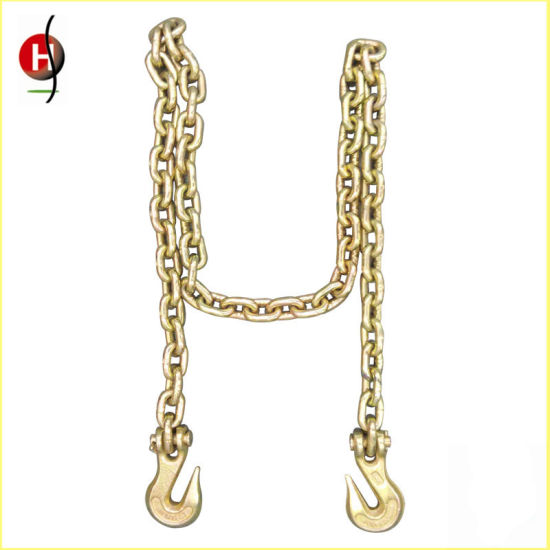 Widely Used Alloy Steel Chain Sling with Hooks pictures & photos
