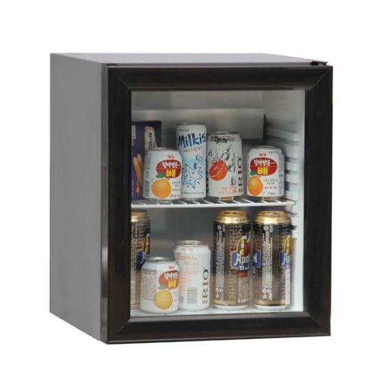 China Absorption Mobile Home Fridge Freezer Counter Top Glass Door