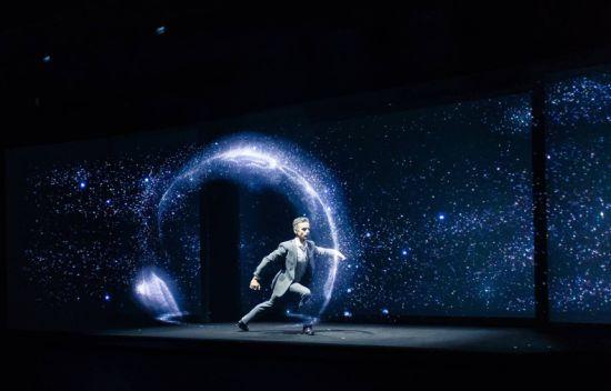 D Hologram Exhibition : China hologram musion eyeliner foil holographic stage show