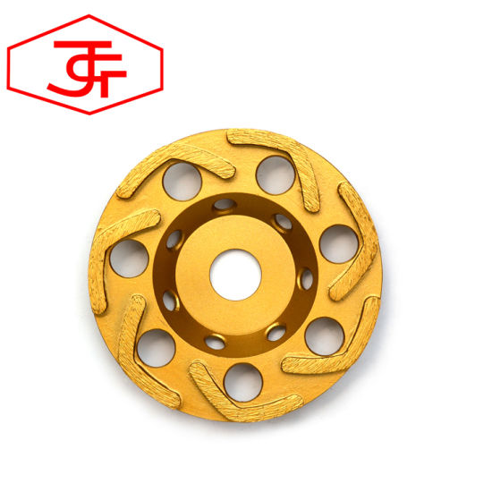 Hot-Pressed Diamond Grinding Cup Wheel for Cutting Blade pictures & photos