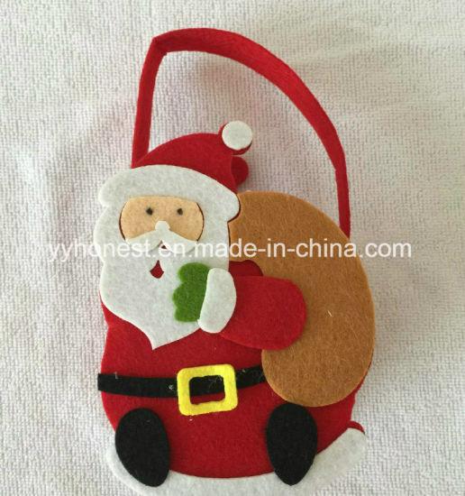 Cute Christmas Party.Cheap Felt Xmas Party Diy Cute Christmas Gift Bags