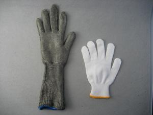 Metal Mesh Cut Resistant Level 5 Long Sleeve Work Glove