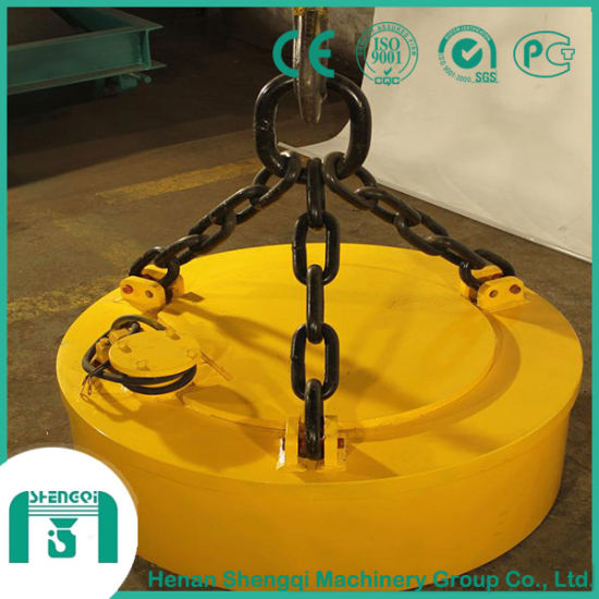Crane Lifting Magnet Electromagnetic Chuck for Handling Steel Plates pictures & photos