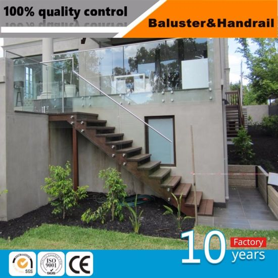 Stainless Steel Glass Balustrade for out Door Railings and Handrails & China Stainless Steel Glass Balustrade for out Door Railings and ...