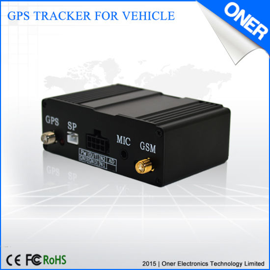 China Portable GPS Tracker No Monthly Fee with SIM Card Slot