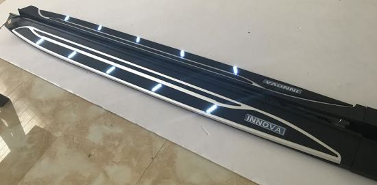 Side Step with Light for Toyota Innova 2016