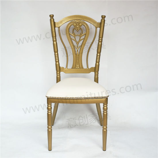 2018 New Style Stacking Gold Napoleon Chiavari Wedding Chair For Event And Party Al Yc