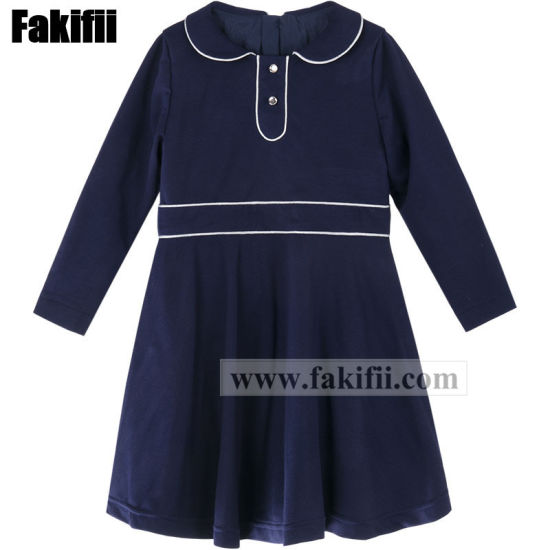 China New England Fashion Girl Uniform School Party Dress Factory Baby Kids Uniform Children S Apparel China Kids Wear And Baby Wear Price