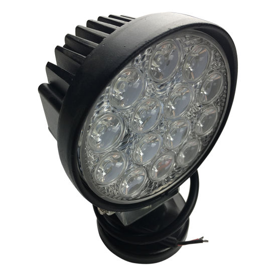 Factory Price 14LEDs 42W 12V 24V Round LED Work Light Offroad LED Driving Light pictures & photos