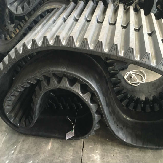 Morooka Mst1500 700*100*98 Rubber Crawler Manufacturer Rubber Track pictures & photos