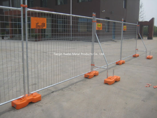 Australia Standard 42 Micron Galvanised Temporary Fence for Export pictures & photos