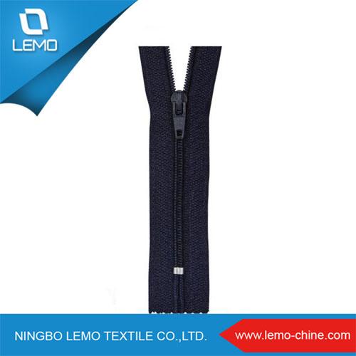 Custom Printed Waterproof Long Chain Nylon Separating Zippers