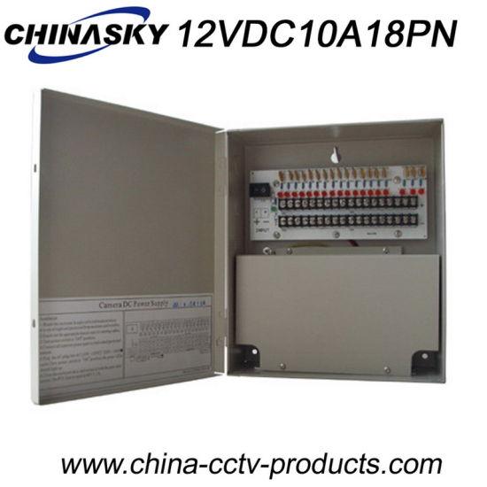 18CH DC Security Camera Power Adapter DC 12V 10A (12VDC10A18PN)