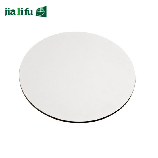 Jialifu Round Solid Compact Laminate Black Table Top pictures & photos