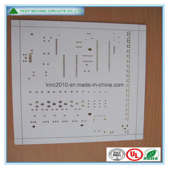 Double Sided PCB Board White Soldmask LED Board pictures & photos