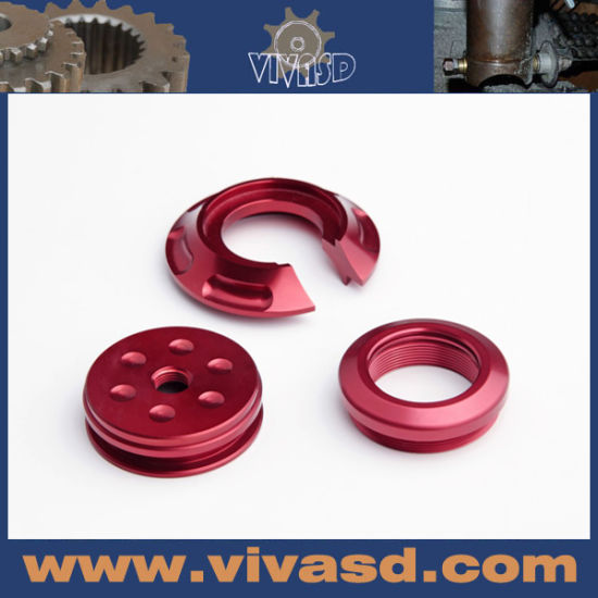 CNC Motorcycle Parts with Red Anodize pictures & photos