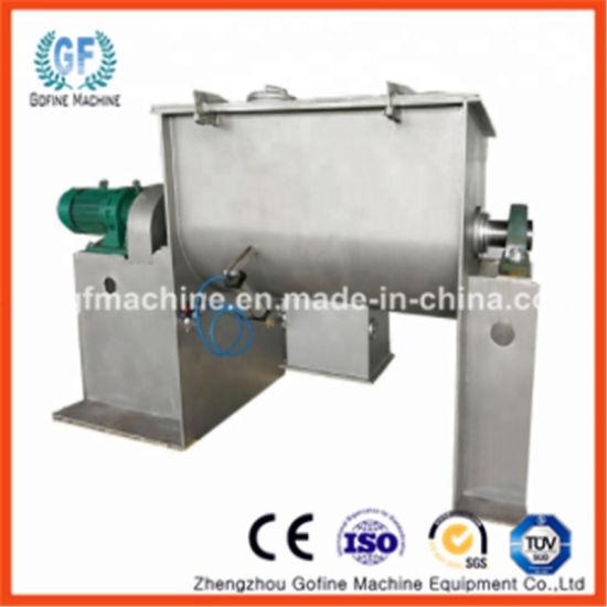 Ce Stainless Steel Powder, Feed, Chemical, Food Spiral Horizontal Ribbon  Mixer Machine / Blender Mixer