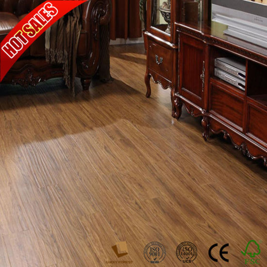 China Hot Sale Eco Forest Laminate Flooring Teak Wood Natural