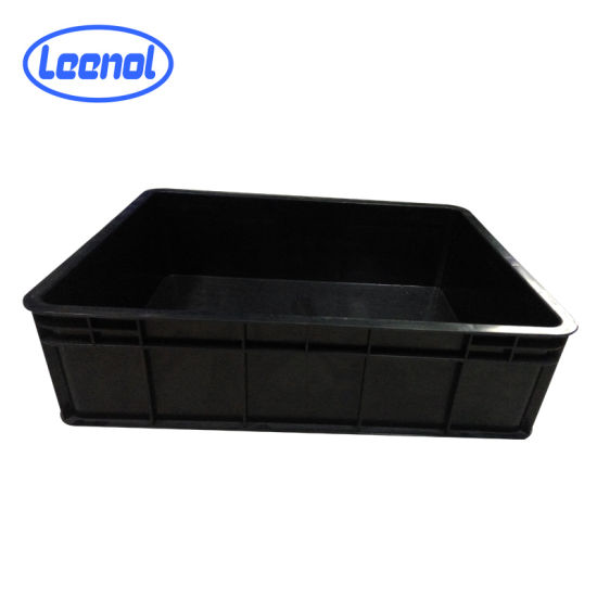 Ln-1526530 ESD Container Conductive Bin Black ESD Crates pictures & photos