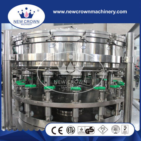 Small Scale Linear Carbonated Drink Filling Machine for Aluminum Can pictures & photos