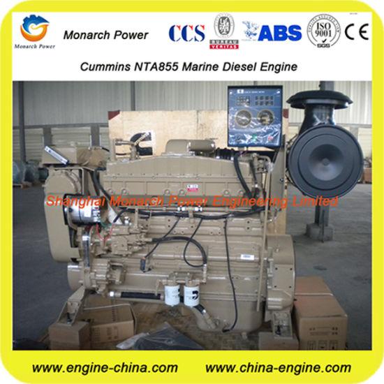 China Cummins N855/Nt855/Nta855 Marine Engine Power From