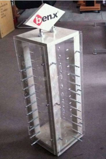 Acrylic Clear Sunglasses Display Cabinet