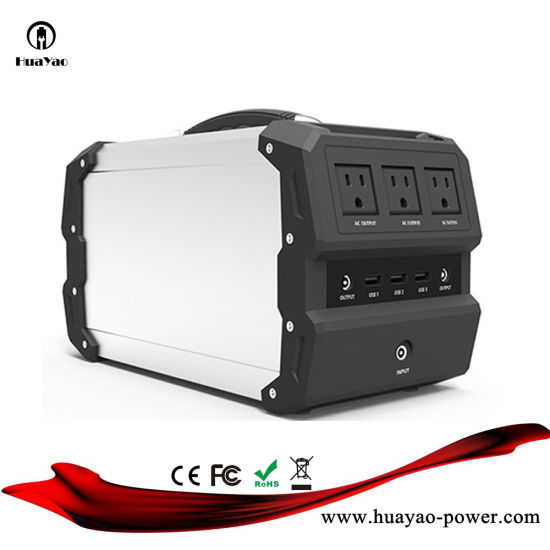 Portable Power Station Generator Bank AC DC USB Output