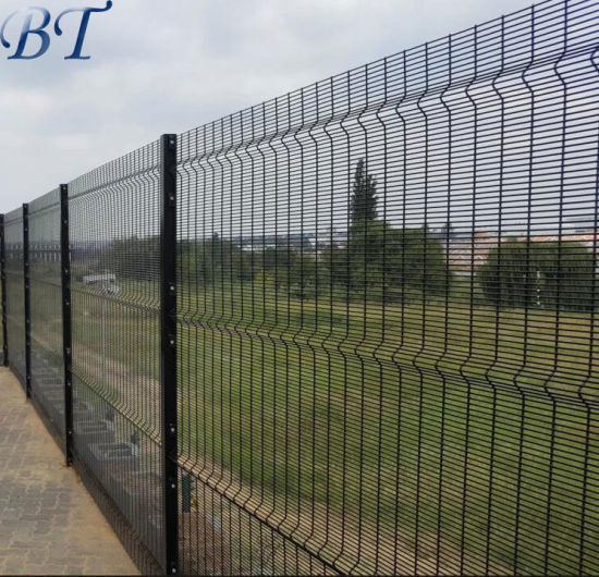 China High Security Clear Vu Mesh Fence Panels 358 Anti
