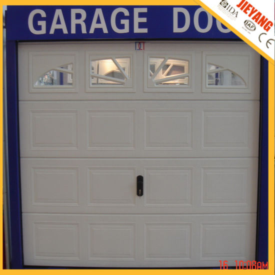 Sectional Automatic Garage Door with Windows pictures & photos