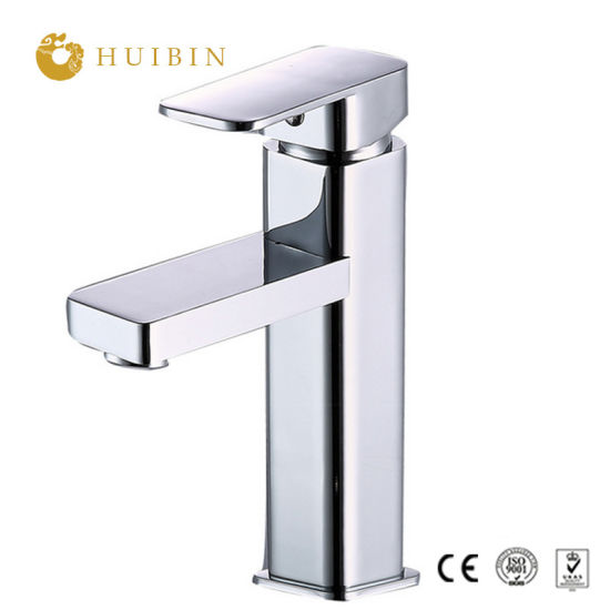Wholesale Stainless Steel Deck Mounted Bathroom Basin Mixer Faucet