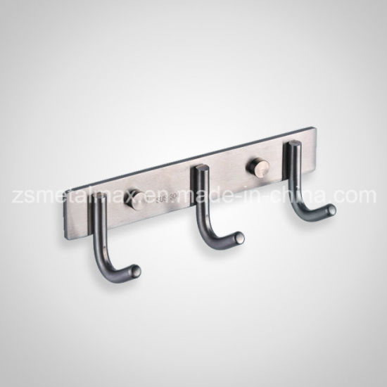 Stainless Steel Bathroom Wall Towel Clothes Hanger Robe Hook Gz003