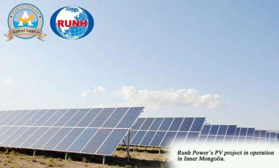 Solar Energy Photovoltaic Energy Solar Panel Power Generation Contractor