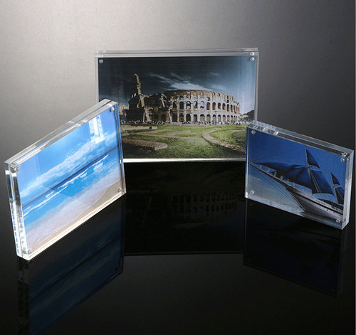 China 4 X 6, 5X7, 6 X8, 10 X 12 Clear Acrylic Picture Frame ...