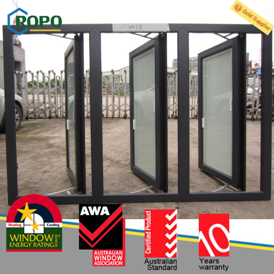 Grey Color UPVC French Windows Models Prefabricated Windows and Doors & China Grey Color UPVC French Windows Models Prefabricated Windows ...