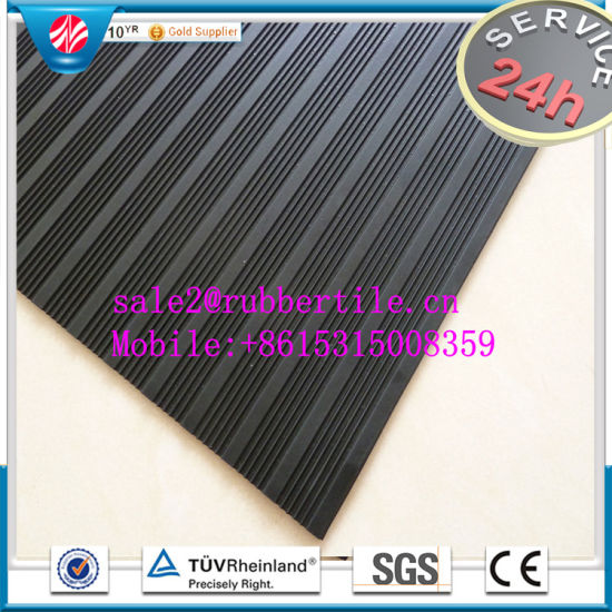 Anti-Abrasive Rubber Sheet/Cloth Insertion Rubber Sheet/Rib Rubber Sheet pictures & photos