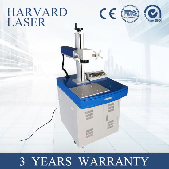 Motorized Portable Fiber Laser Marking Machine for Metal