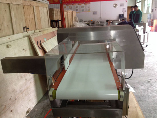 Check Foods Safety Conveyor Belt Type Metal Detector pictures & photos