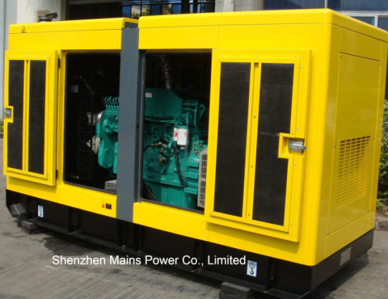 100kVA 80kw Standby Rate Silent Type Cummins Diesel Generator pictures & photos