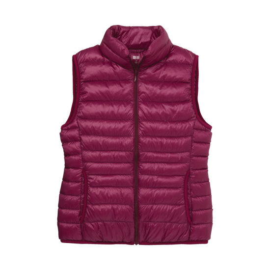 9bfbd45fab7e9 Ladies Sleeveless Hot Sell Custom Printing Winter Down Coat pictures    photos