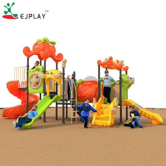 European Standard Multifunctional Plastic Playground Equipment with Ce Certificate